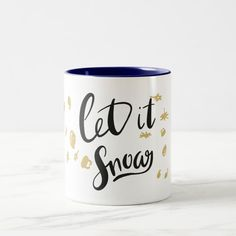 Let It Snow Christmas Mug