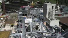 #Ischgl   DasBaustellentagebuch der 3-S Anlage Pardatschgratbahn von #Doppelmayr  Der Aufbau der Seilbahntechnik hat begonnen.   #Austria #Seilbahn #Youtube