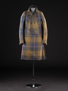 Wild and Majestic: Romantic Visions of Scotland Exhibition Film, Royal Company, Tartan Suit, Royal Stewart Tartan, Folk Costume, Costumes, Military Dresses, Red Books, Viking Age