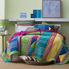 Gemstone Patchwork Quilt | The Company Store