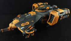 The Internet's largest gallery of painted miniatures, with a large repository of how-to articles on miniature painting Tau Warhammer, Warhammer Paint, Warhammer Models, Paint Schemes, Color Schemes, Optimus Prime Toy, Tau Army, 40k Armies, Tau Empire