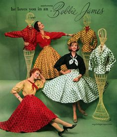 "Gefällt 1,066 Mal, 6 Kommentare - @myvintagevogue auf Instagram: ""Bobbie James LTD 1957 #vintage #vintagefashion #vintagemagazine #vintageadvertising #vintagedress…"""