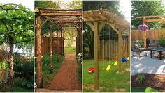 Arch, Outdoor Structures, Diy, Garden, Longbow, Garten, Bricolage, Lawn And Garden, Do It Yourself