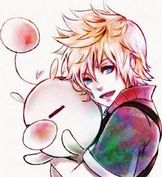 Moogle / Ventus / Kingdom Hearts: Birth by Sleep / 「A moguri is love. KUPO!」/「Maribel M.M.」のイラスト [pixiv]