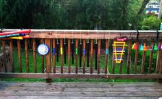 outdoor music play idea