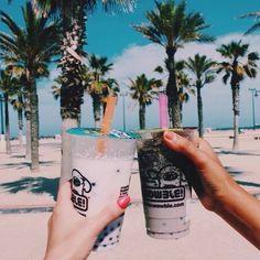 beach, beautiful, california, coffe, cool, drinks, friends, green ...