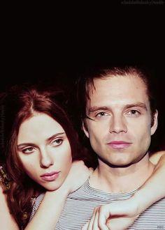 Scarlett and Sebastian - love them both but oh my Seb :)))