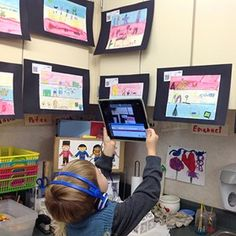 ISTE   Help the littlest learners share their work in 5 easy steps