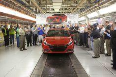 2013 Dodge Dart production kicks off