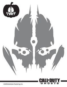 Call Of Duty Modern Warfare - Call Of Duty Modern Warfare Remastered Time Paradox Pumpkin Stencil, Pumpkin Carving, Call Of Duty, V Games, Video Games, Modern Warfare, Bat Signal, Superhero Logos, Stencils