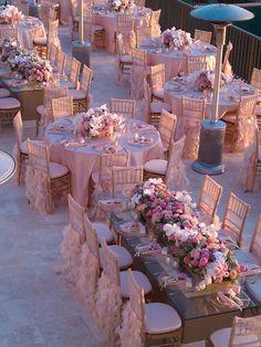 Best Wedding Reception Decoration Supplies - My Savvy Wedding Decor Wedding Goals, Wedding Themes, Wedding Designs, Wedding Planning, Wedding Theme Ideas Unique, Pink Wedding Theme, Perfect Wedding, Dream Wedding, Wedding Day