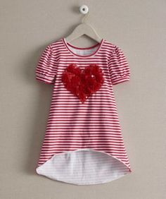 girls have a heart tunic