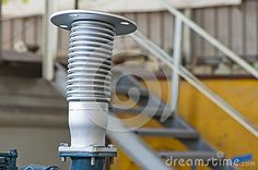 Industrial exhauster for engine gasses