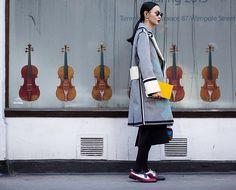 Streetstyle на Неделе мужской моды в Лондоне. Часть 2   VOGUE