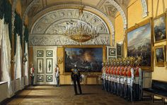 The Guards Room, Winter Palace.