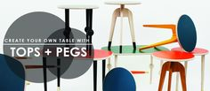 Prettypegs offers replaceable furniture legs – bringing identity and style to your favorite IKEA furniture. Our Pegs also work with a wide range of other furniture styles and manufacturer. Prettypegs blend a classic Scandinavian simplicity with a joyful contemporary expression.