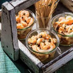 This recipe will soon become a party staple. You can marinate the shrimp a few days in advance, so by the time guests arrive, the shrimp...