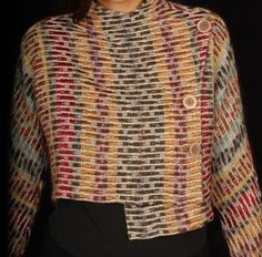Wearable Art  Artist: ARLENE WOHL    There is poetry in the word WEAVE.