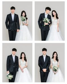 Korean Wedding Photography, Wedding Couple Poses Photography, Wedding Poses, Wedding Couples, Post Wedding, Dream Wedding, Photo Wreath, Minimal Wedding, Weeding Dress