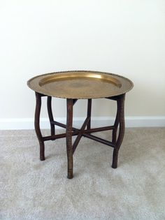 Brass Tray Table | Twin Interiors
