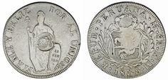 8 REALES. ISABEL II. PHILIPPINES-FILIPINAS 1835. COUNTERMARK - RESELLO. VF+MBC+