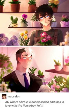I don't really ship it but Keith is too pretty?