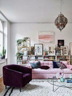 10 Charmante moderne Samtsessel, die Sie lieben werden 10 Charming Velvet Modern Chairs You Will Not Resist 9