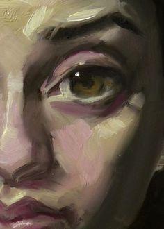 """Peepers"" (close-up), John Larriva art"