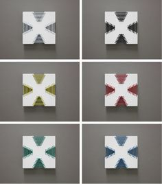 Corset Wall Tiles by Arbutus+Denman in interior design home furnishings  Category