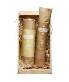 Wild West Handcrafted Salami Gift Set #gifts