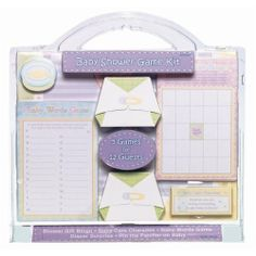 Baby Shower Game Kit (12 guests)