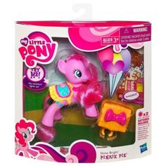 SHINE BRIGHT PINKIE PIE. I got one of these for Christmas. ^_^