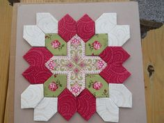 Lucy Boston Patchwork of the Crosses Quilt by FeatherweightQuiltCo