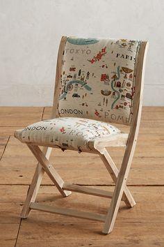 Slide View: 1: Rifle Paper Co. Terai Chair
