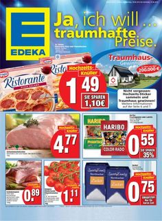 EDEKA Angebote KW25 - Ja, ich will...traumhafte Preise.
