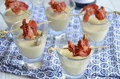 Recipe Fr, Lard, Party Finger Foods, Xmas Party, Tupperware, Cooking Time, Tapas, Panna Cotta, Pudding
