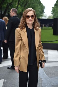 Habitually Chic® » Style Icon Isabelle Huppert