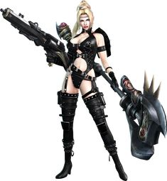 Rachel is a major supporting character in the newer Ninja Gaiden series. She is also a playable character in Ninja Gaiden Sigma and Ninja Gaiden Sigma 2.