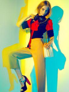 Graphic Study (Harper's Bazaar SG Sept 2012) on Fashion Served