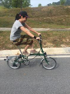Bicicleta Brompton, Bike Style, Women, Bicycle Kick, Woman
