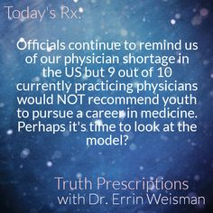 Pure truth about current state of US Healthcare - Truth Prescriptions with Dr. Errin Weisman