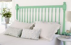 It only looks tough to build. This easy-to-customize piece will give your bed an instant lift