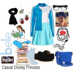 Casual Disney Princess - Belle