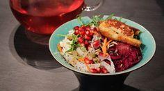 Yoga bowls   SVT.se Buddha Bowl, Halloumi, Garam Masala, Wok, Quinoa, Bowls, Vegetarian, Yummy Food, Ethnic Recipes
