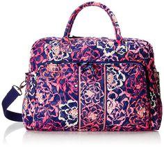 Vera Bradley Weekender Duffle Bag, Katalina Pink, One Size