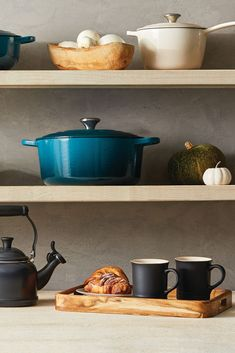 Explore Le Creuset color palettes and color pairing ideas, featuring Deep Teal. Kitchen Cart, Kitchen Decor, Le Creuset Colors, Color Pairing, Deep Teal, Color Palettes, Explore, Ideas, Home Decor