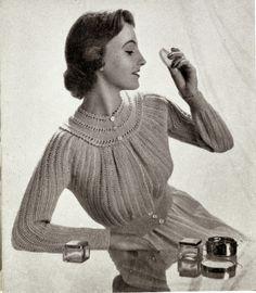 Subversive Femme: Phyllis Bedjacket, circa 1950s
