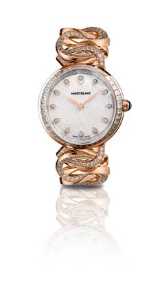 Princess Grace of Monaco Collection #Watches by Montblanc http://www.finditforweddings.com