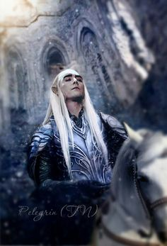 Crossing the Misty Mountains Oropher, Thranduil and their people found populations of Silvan Elves living in the woodlands that bordered the River Anduin. The Sindar were welcomed by these people and some were made princes over them. Among these was Thranduil's father Oropher, whose realm included the southern portions of the forest of Greenwood the Great, which was later known as Mirkwood.
