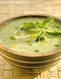 ... in fibre and iron, makes this soup a wise choice for weight watchers